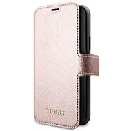 Guess Iridescent Book pre iPhone 11 Black/Rose (EU Blister) - Puzdro na mobil