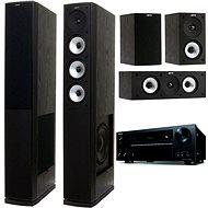 ONKYO TX-NR656 čierna + Jamo S 628 HCS čierna