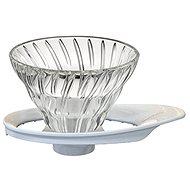 Hario sklenený dripper na kávu V60-01 - Prekvapkávací kávovar