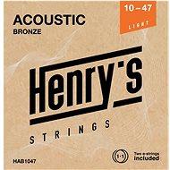 Henry's Strings Bronze 10 47