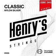Henry's Strings Nylon Silver 0280 043 HNSS