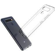 Kryt na mobil Hishell TPU pre LG K51S číry - Kryt na mobil