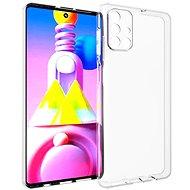 Kryt na mobil Hishell TPU pre Samsung Galaxy M51 číry - Kryt na mobil