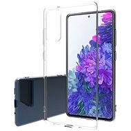Hishell TPU pre Samsung Galaxy S20 FE číry - Kryt na mobil