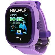 Helmer LK 704 fialové - Detské hodinky