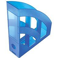 HELIT Economy 75 mm modrý - Stojan na časopisy
