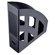 HELIT Economy 75 mm čierny - Stojan na časopisy