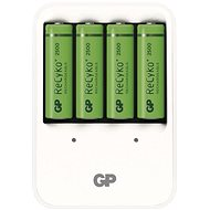 GP PowerBank PB420 + 4AA2500 - Nabíjačka