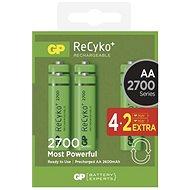GP Recyko HR6 (AA) 2700mAh 4+2ks - Akumulátory