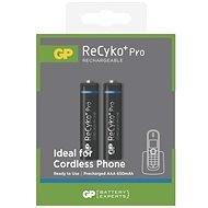 GP ReCyko Pro Cordless (AAA) 650mAh 2 ks - Nabíjateľná batéria