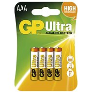 GP Ultra Alkaline LR03 (AAA) 4ks v blistri - Jednorazová batéria