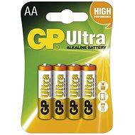 GP Ultra Alkaline LR6 (AA) 4 ks v blistri - Jednorazová batéria