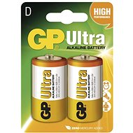 GP Ultra LR20 (D) 2 ks v blistri - Jednorazová batéria
