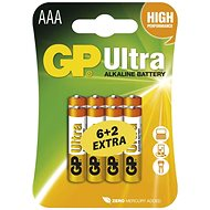 GP Ultra LR03 (AAA) 6 + 2 ks v blistri - Batéria