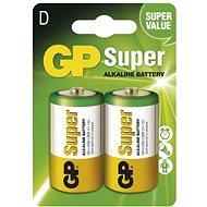GP Super LR20 (D) 2 ks v blistri - Jednorazová batéria