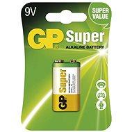 GP Super Alkaline 9V 1 ks v blistri - Jednorázová batéria