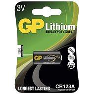 GP CR123A lithiová 1ks v blistru - Jednorazová batéria