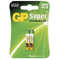 Jednorazová batéria GP Alkalická špeciálna batéria GP 25A (AAAA, LR8), 2 ks