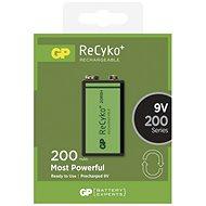 GP Recyko 9 V 200 mAh, Ni-MH, 1 ks - Nabíjacia batéria