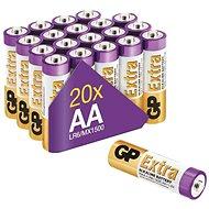 GP Alkalická batéria GP Extra AA (LR6), 20 ks