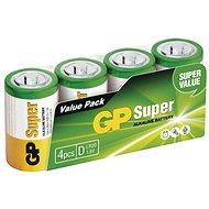 GP Alkalická batéria GP Super D (LR20), 4 ks