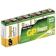 GP Alkalická batéria GP Super 9V (6LF22), 4 ks