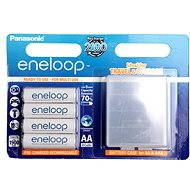 Panasonic eneloop AA 1 900 mAh 4ks + case - Nabíjacia batéria