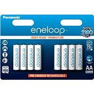 Panasonic eneloop AA 1 900 mAh 8 ks - Nabíjacia batéria