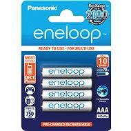 Nabíjateľná batéria Panasonic eneloop AAA 750 mAh 4 ks - Nabíjecí baterie
