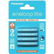 Nabíjateľná batéria Panasonic eneloop lite AAA 550 mAh 4 ks - Nabíjecí baterie