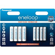 Panasonic eneloop HR6 1900 mAh + HR03 750 mAh 8BP