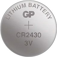 GP Lítiová gombíková batéria GP CR2430 - Gombíkové batérie