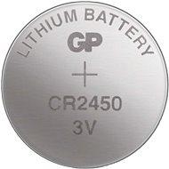 GP Lítiová gombíková batéria GP CR2450 - Gombíkové batérie