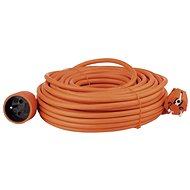 Predlžovací kábel Emos predlžovací kábel 25m, oranžový - Prodlužovací kabel