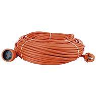 Emos Predlžovací kábel 40 m, oranžový - Napájací kábel