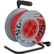 Predlžovací kábel Emos Predlžovací kábel na bubne - 4 zásuvky 25 m - Prodlužovací kabel