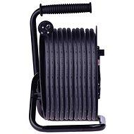Predlžovací kábel EMOS Gumový predlžovací kábel na bubne – 4 zásuvky, 50 m, 2,5 mm2 - Prodlužovací kabel