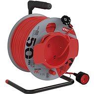Predlžovací kábel EMOS PVC predlžovací kábel na bubne – spojka, 50 m, 1,5 mm2 - Prodlužovací kabel