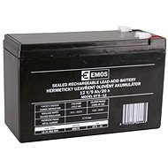 EMOS Bezúdržbový olovený akumulátor 12 V/9 Ah, faston 6,3 mm - Nabíjateľná batéria