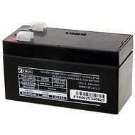 EMOS Bezúdržbový olovený akumulátor 12 V/1,3 Ah, faston 4,7 mm - Nabíjateľná batéria