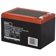 EMOS Bezúdržbový trakčný olovený akumulátor 12 V/15 Ah, faston 6,3 mm - Nabíjateľná batéria