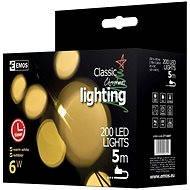 Emos 200LED Xmas CLAS TIMER NET - Vianočné osvetlenie