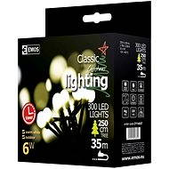 EMOS LED vánoční cherry řetěz – kuličky, 30m, teplá bílá, časovač - Vianočná reťaz
