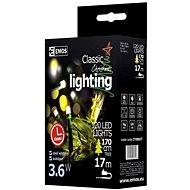 Emos 120 LED Xmas CLAS TIMER - Dekoratívne osvetlenie