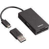 Hama USB 2.0 OTG - Čítačka kariet