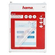 Laminovacia fólia Hama A6/250 lesklá – balenie 100 ks - Laminovací fólie