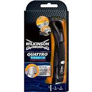 WILKINSON Quattro Titanium Precision + hlavica 1 ks - Holiaci strojček