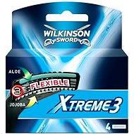 WILKINSON Xtreme3 System 4 ks - Pánske náhradné hlavice