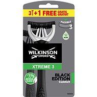 WILKINSON Xtreme3 Black 3 + 1 ks - Holiace strojčeky