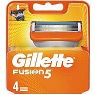 GILLETTE Fusion náhradné hlavice 4 ks - Pánske náhradné hlavice